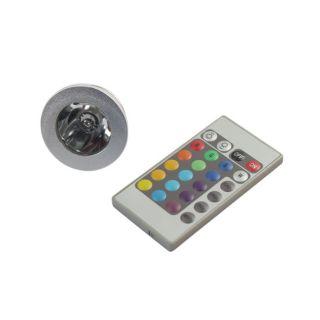 Remote Control 16 color RGB LED Light Bulb
