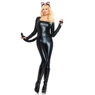 Leg Avenue Womens Cat Body Suit Costume