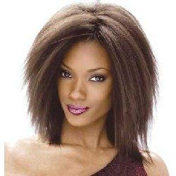 Milky Way Human Hair Weave Short Cut Series   Afro Kinky