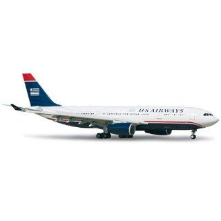 Herpa Wings US Airways A330 200 Model Airplane: Everything