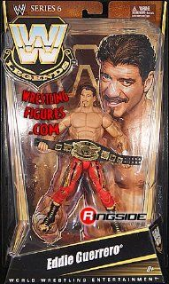 EDDIE GUERRERO   WWE LEGENDS 6 WWE TOY WRESTLING ACTION