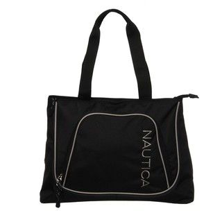 Nautica Steward Black / Grey Travel Boat Tote