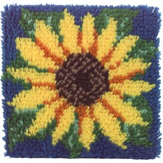 Caron Wonderart Sunflower Latch Hook Kit (12 x 12) Today $8.59