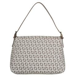 Fendi 8BR001 Forever Mama Flap Canvas Shoulder Bag