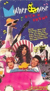 Mother Goose Rock n Rhyme [VHS] Harry Anderson, Cyndi