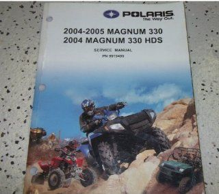 2004 2005 Polaris Magnum 330 330 HDS Shop Repair Service Manual BOOK
