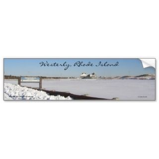 Westerly, Rhode Island Bumper Stickers