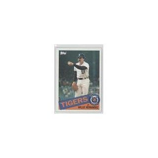 Hernandez Detroit Tigers (Baseball Card) 1985 Topps #333 Collectibles