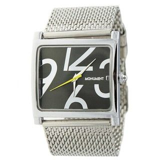 Monument Womens Mesh Analog Watch