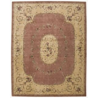 Chambord Pink Floral Rug (76 x 96)
