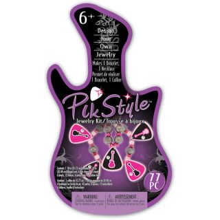 Pik Style Rock Star Guitars Jewelry Kit