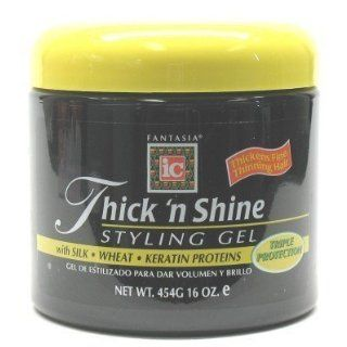 Fantasia IC Gel Thick N Shine 454g 470 ml Jar (Case of 6) (Haargel