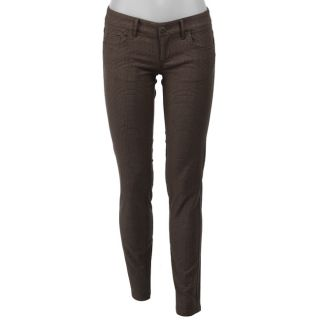 BB Dakota Womens Marion Plaid Skinny Pants