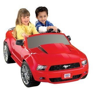 Fisher Price Power Wheels Ford Mustang Riding Toy