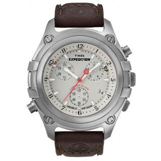 Timex Herrenuhr Expedition Chrono mit Easy Set Alarm T49747 Timex