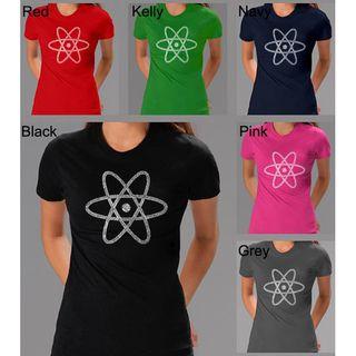 Los Angeles Pop Art Womens Atom T shirt