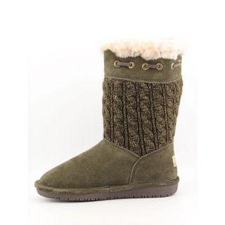 Bearpaw Womens Constantine Green Boots