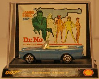 Shell   James Bond Cars   Dr. No   Sunbeam Alpine 5   im Acryl Display