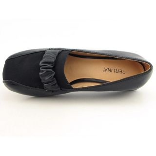 Perlina Womens Babs Black Casual Shoes (Size 9)