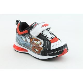 Disney Pixar Youths Cars Lighted Sneaker White Casual Shoes