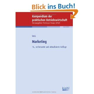 Marketing Hans Christian Weis Bücher
