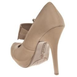 Riverberry Womens Olisa Hidden Platform Mary Jane Heels