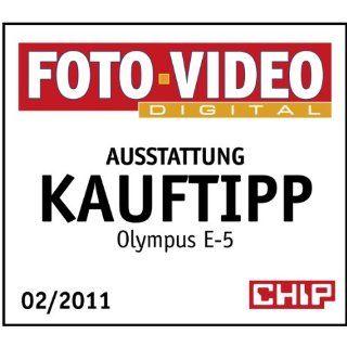 Olympus E 5 SLR Digitalkamera 3 Zoll Gehäuse schwarz