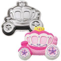 WILTON BACKFORM PRINCESS KUTSCHE   Prinzessin   ALU KUCHENFORM aus USA