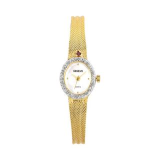 Geneve Womens July Diamond Watch