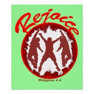 Christian ART by XTOLZ Rejoice!   Philippians 44 Store