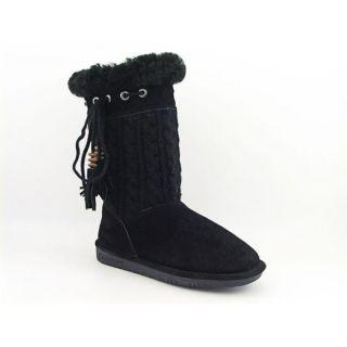 Bearpaw Womens Constantine Black Boots (Size 9)