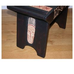 Sese Wood Ashanti All purpose Stool (Ghana)