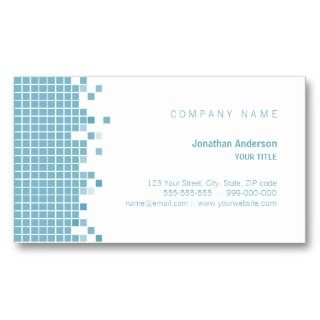 Blue Pixels business card