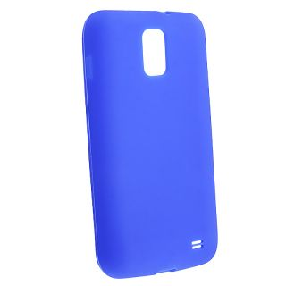 Blue Silicone Skin Case for Samsung Galaxy S II Skyrocket i727