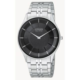 Citizen Mens Eco drive Stiletto Stainless Steel Watch