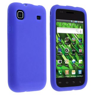 BasAcc Blue Silicone Case for Samsung Galaxy S Vibrant 4G i9000/ T959