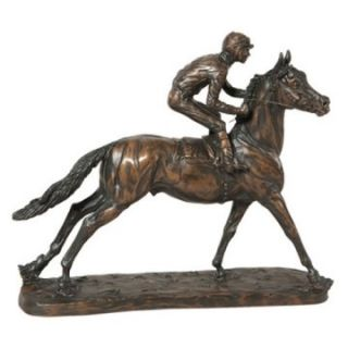 OK Casting 11.5H in. Smart Bet Horse Sculpture   Sculptures
