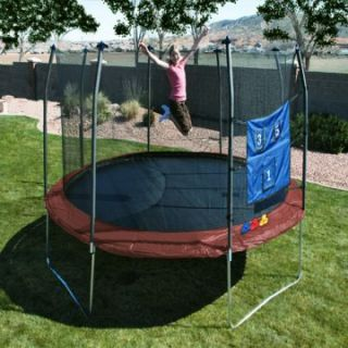 Exclusive Skywalker 14 ft. Round Promotional Trampoline with Enclosure