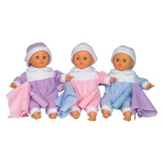 Toys All About Baby Jessie, Jackie and Jenna Triplet 11.5 in. Dolls