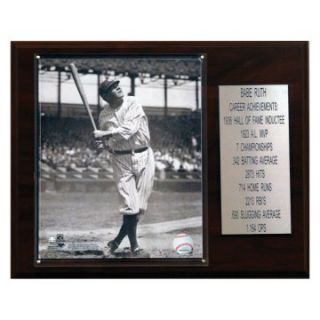 MLB 12 x 15 in. Babe Ruth New York Yankees Career Stat Plaque at
