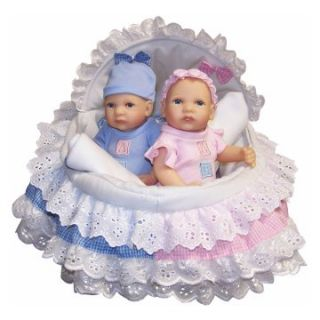 Molly P. Originals Anatomically Correct Boy and Girl 12 in.Twin Dolls