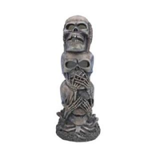 Hear Speak and See No Evil Totem Pole Aquarium Decoration   Aquarium