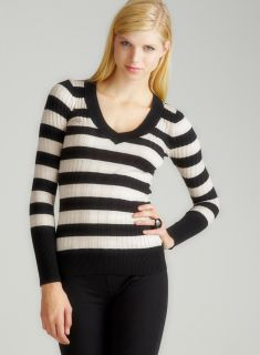 Prince Of Thieves L/S Vnk Wide Stripe Rib Sweater