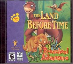 PC/MAC   THE LAND BEFORE TIME PRESCHOOL ADV   JC