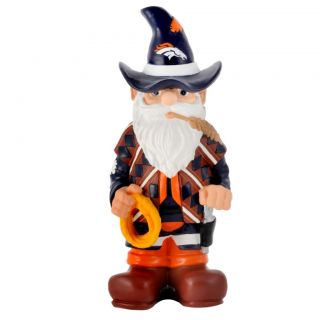 Denver Broncos 11 inch Thematic Garden Gnome