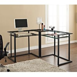 Secretary Desks Buy Wood, Glass and Metal Home Office