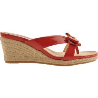 Womens Anne Klein Pointy Red Synthetic