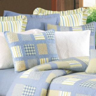 and F Enterprises Benjamin 26 x 26 in. Stripe Coordinate o Sham