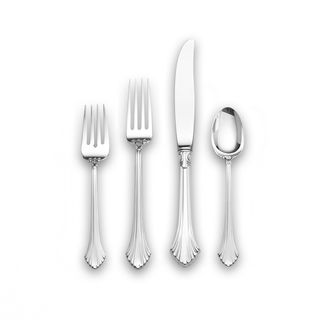 Wallace French Regency 4 piece Sterling Silver Flatware Set