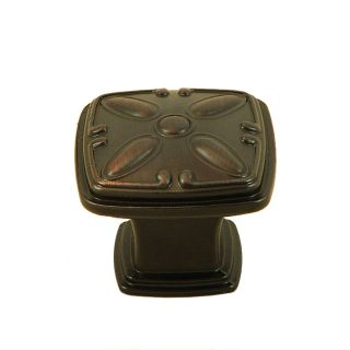 Stone Mill Hardware Edinborough Oil rubbed Bronze Cabinet Knobs (Pack
